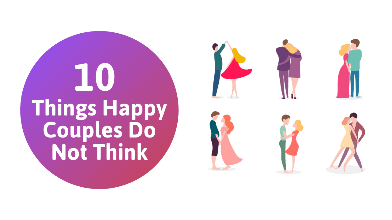 things happy couples do not think