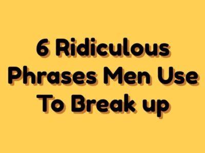 Break Up Phrases