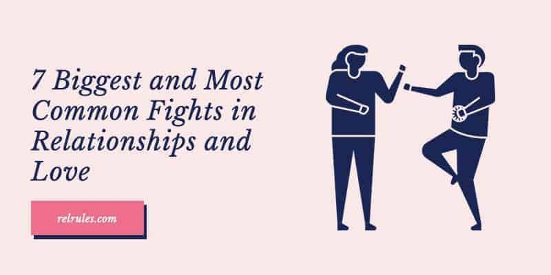 common fights in relationships