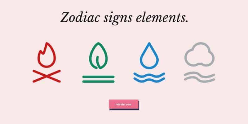 zodiac signs elements