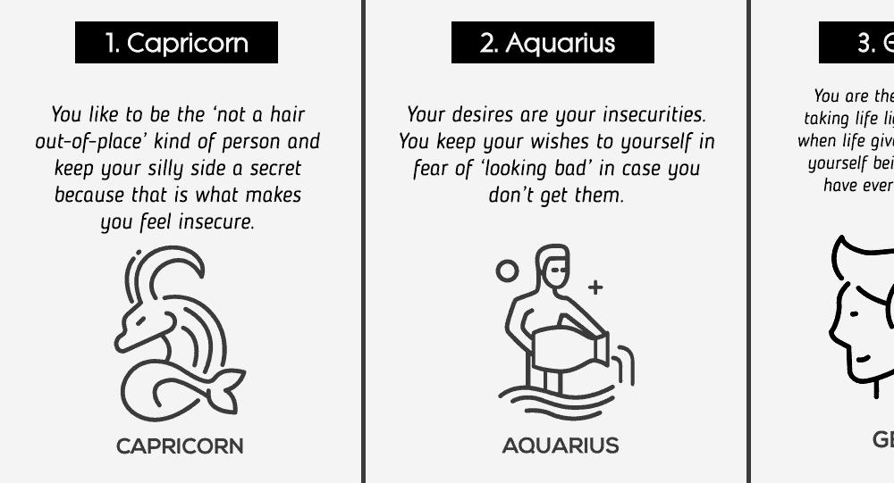 What Triggers Your Insecurities According To Your Zodiac Sign