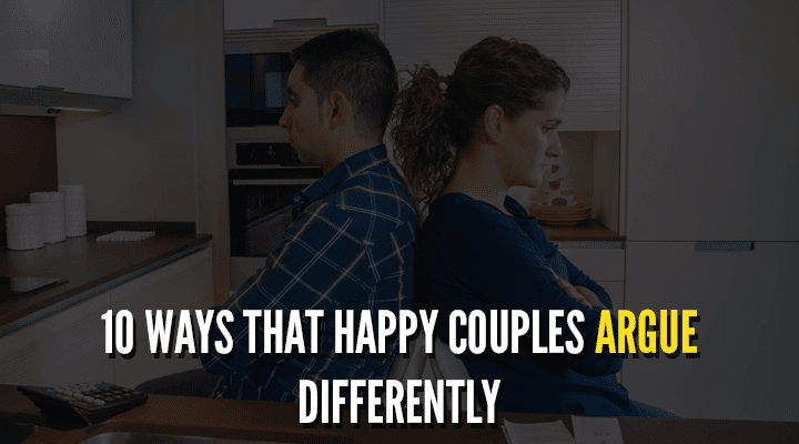 Ways That Happy Couples Argue Differently