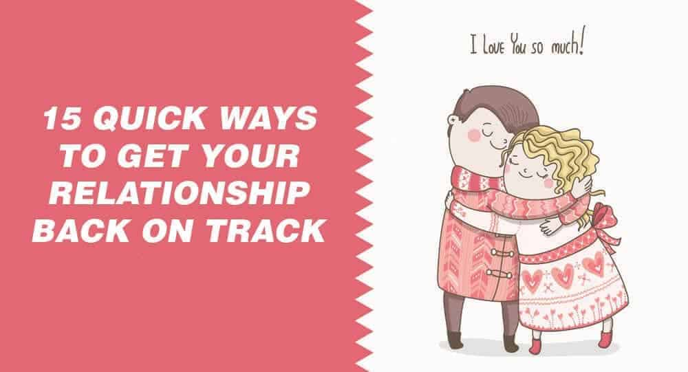 How To Get Your Relationship Back