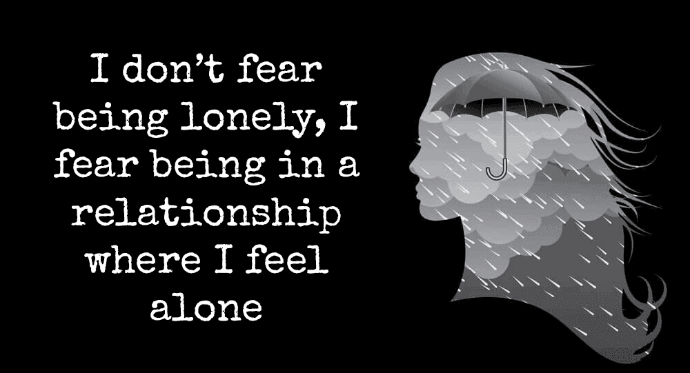 dating and feeling lonely