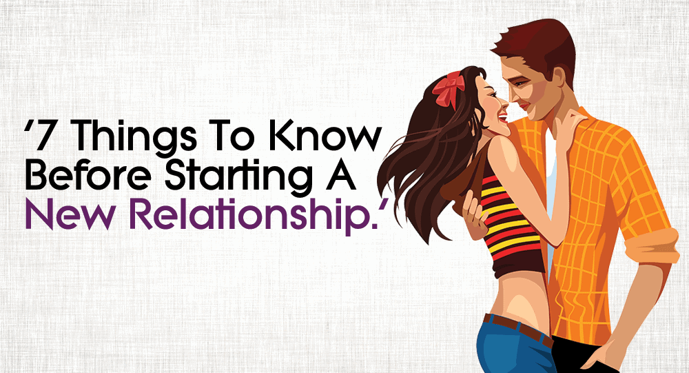 Starting A New Relationship