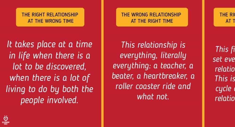 when is the right time for a relationship