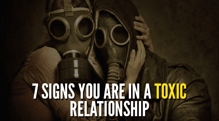 7 Signs you are in a toxic relationship 1