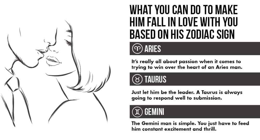 Make aries man fall in love