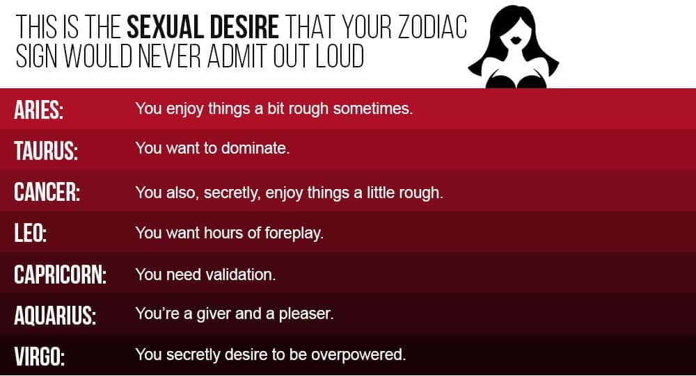 Leo sign sexuality