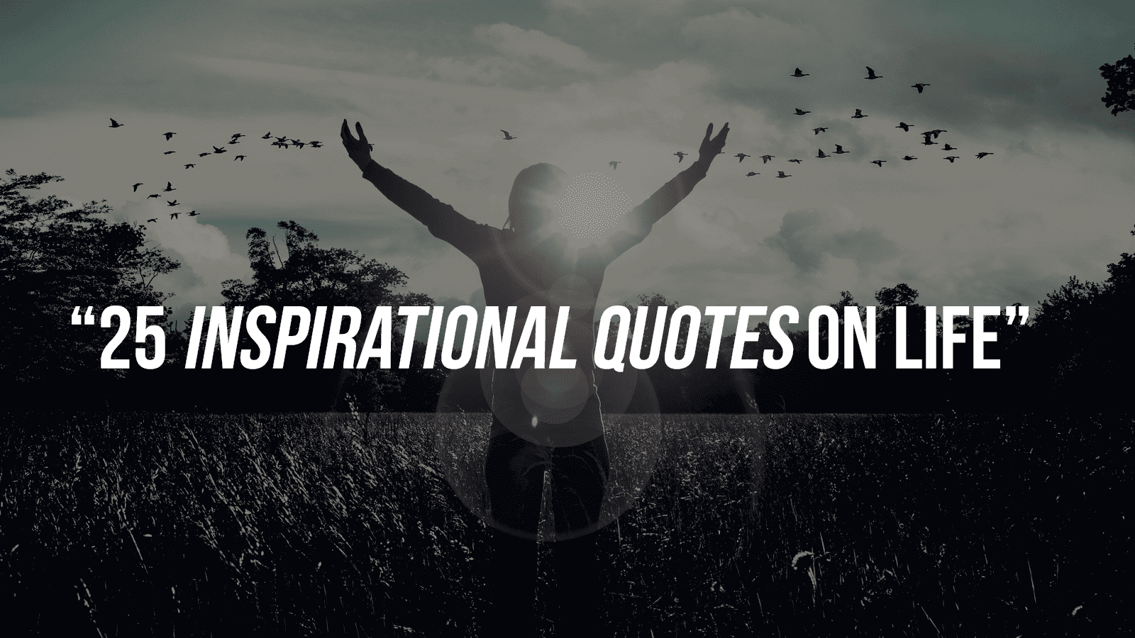 25 Inspirational Quotes On Life