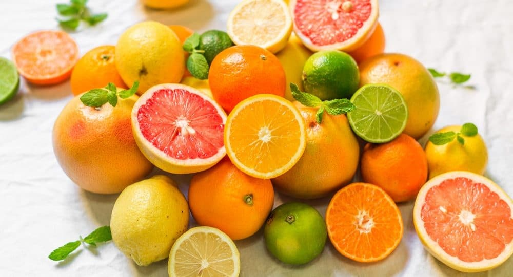 Get Rid Of Forehead Wrinkles With Citrus Fruits