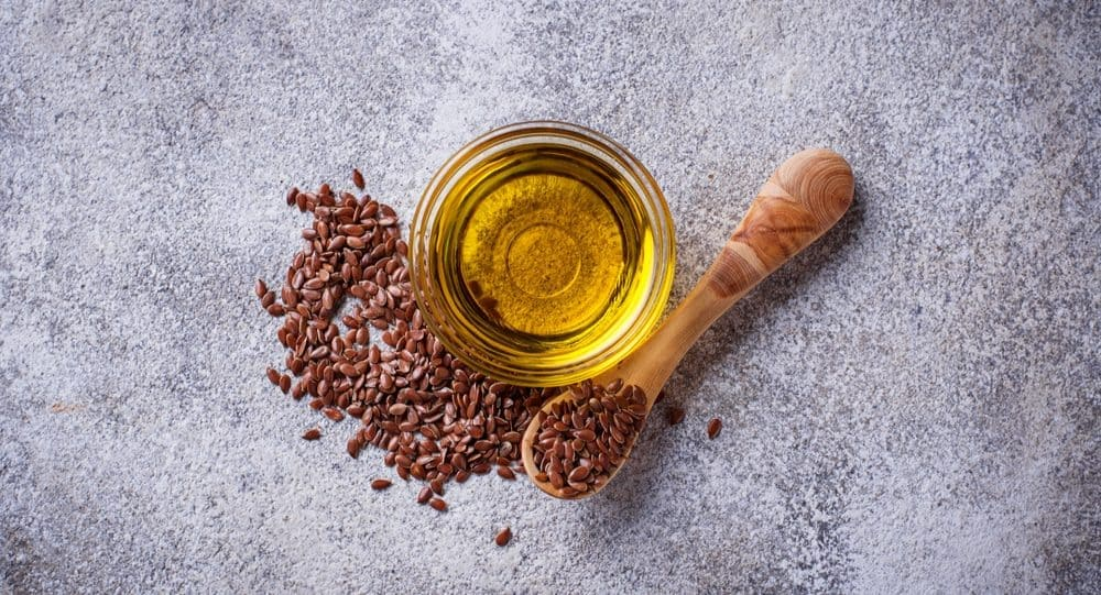 Get Rid Of Forehead Wrinkles With Flaxseed oil