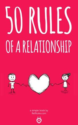50 rules of a relationship