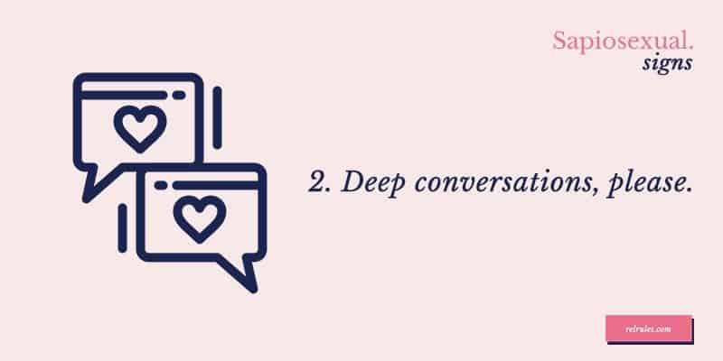 sapiosexual conversations