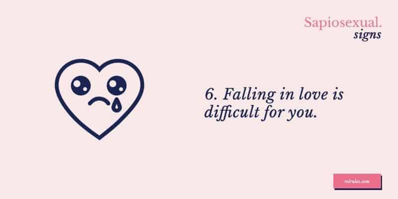 sapiosexual falling in love