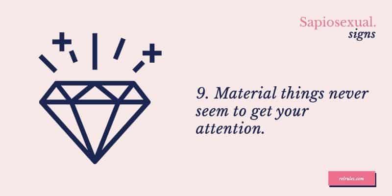 sapiosexual material things