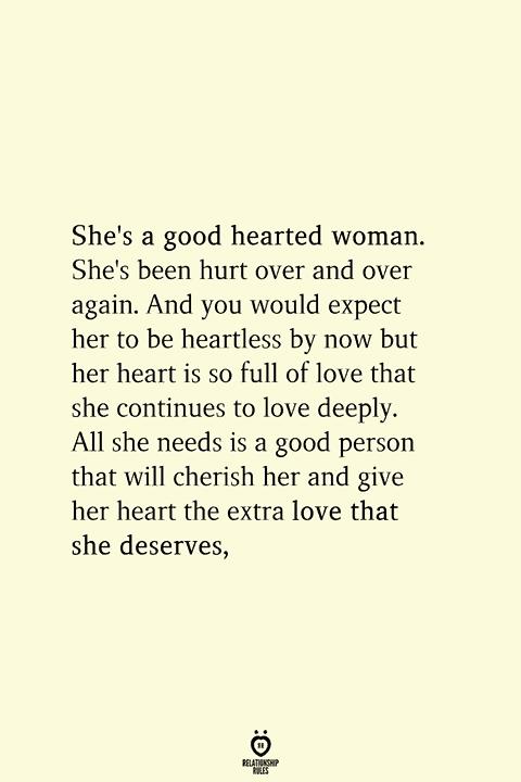 A is when hurt woman pisces What Happens