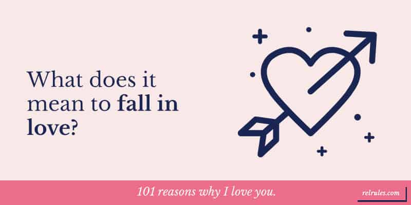 fall in love meaning