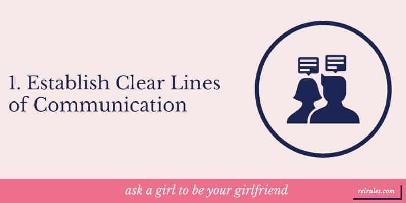 Establish Clear Lines of Communication