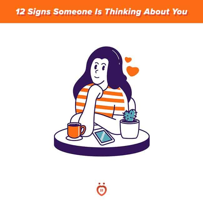 signs someone is thinking about you