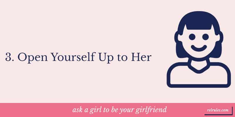Open yourself up to her