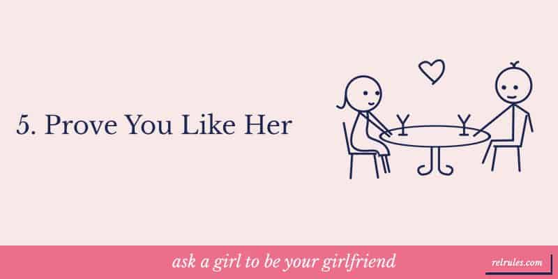 Prove, you like her