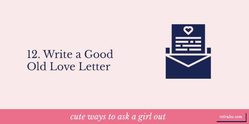 cute ways to ask a girl out