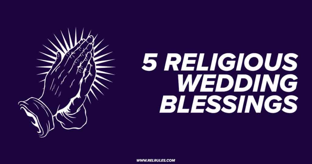 religious wedding blessings